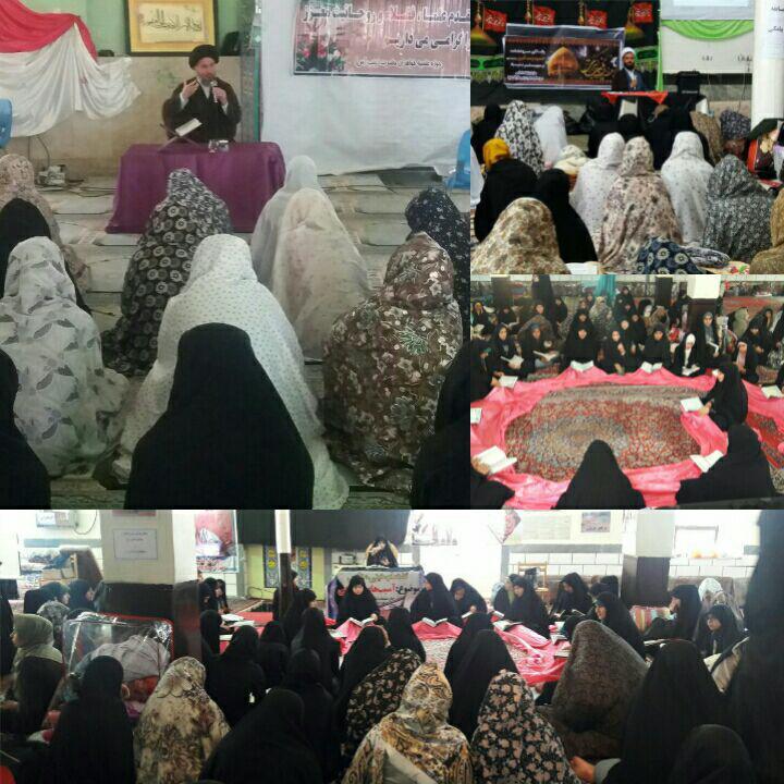 مراسم اعتکاف خواهران در ایذه برای اولین بار با تفکیک سنی برگزار شد