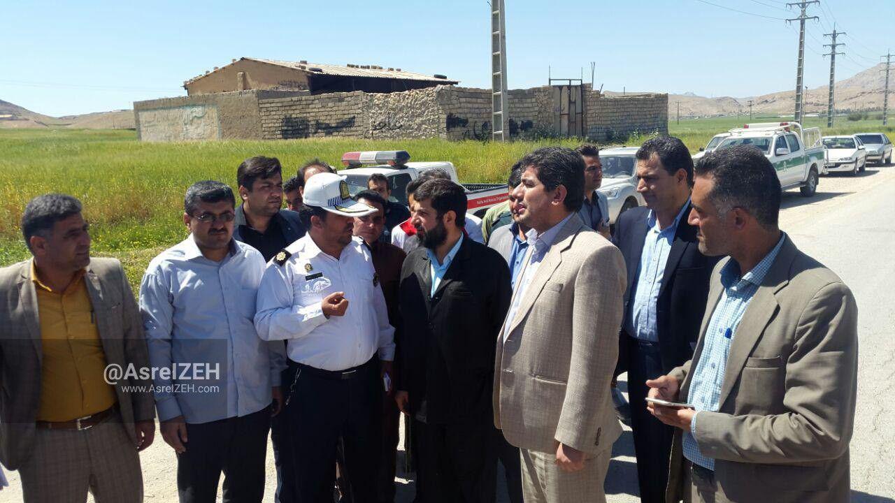استاندار خوزستان از جاده ایذه_پیان بازدید کرد