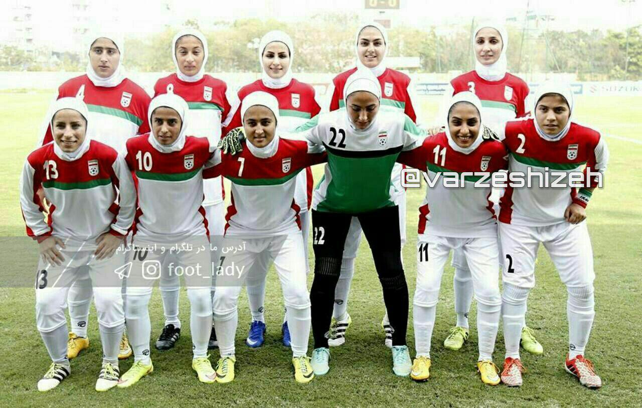 حضور بانوی ایذهای در ترکیب تیم ملی فوتبال ایران