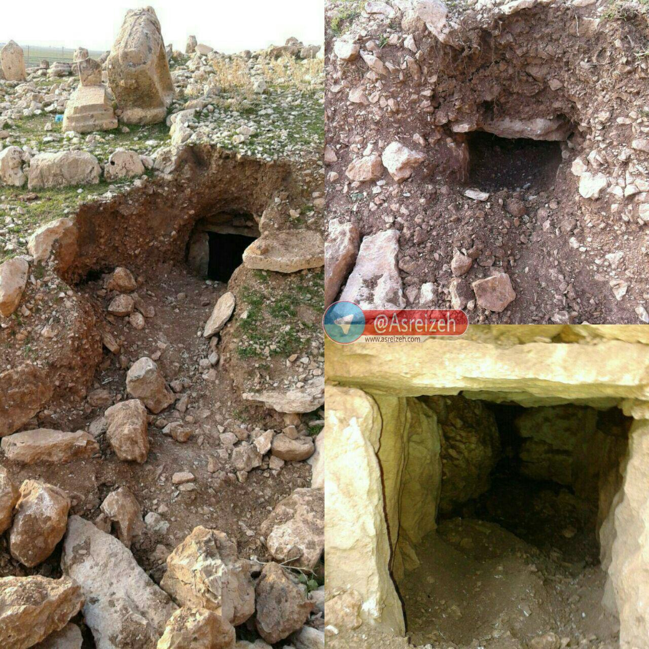 انهدام باند حفاری غیرمجاز در شهرستان ایذه