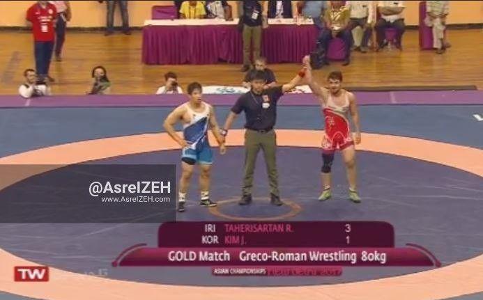 غرش شیر بیشه آنزان در آسیا/ رامین طاهری با هتریک در قهرمانی آسیا جاودانه شد