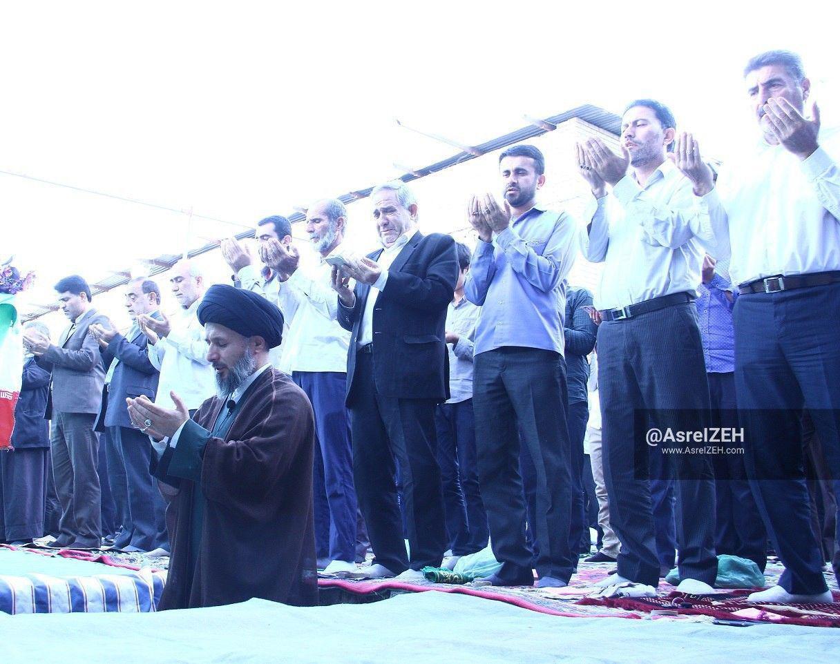 گزارش تصویری/ نماز پرشکوه عید فطر در ایذه
