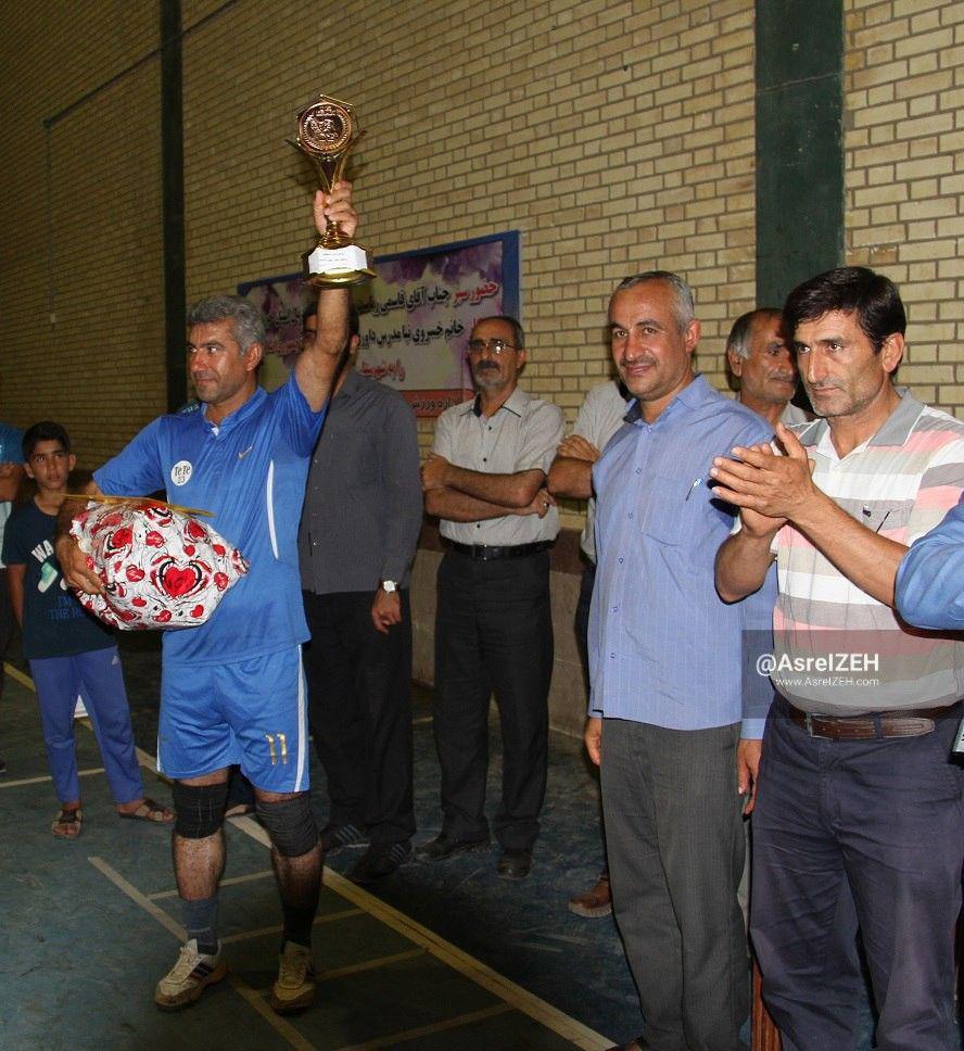 هجرت ایذه قهرمان دومین دوره مسابقات والیبال جام رمضان شد