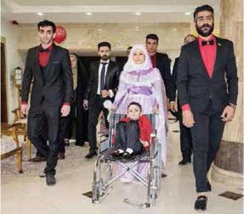 پسر ۷ ساله ایذهای ازدواج کرد! + عکس