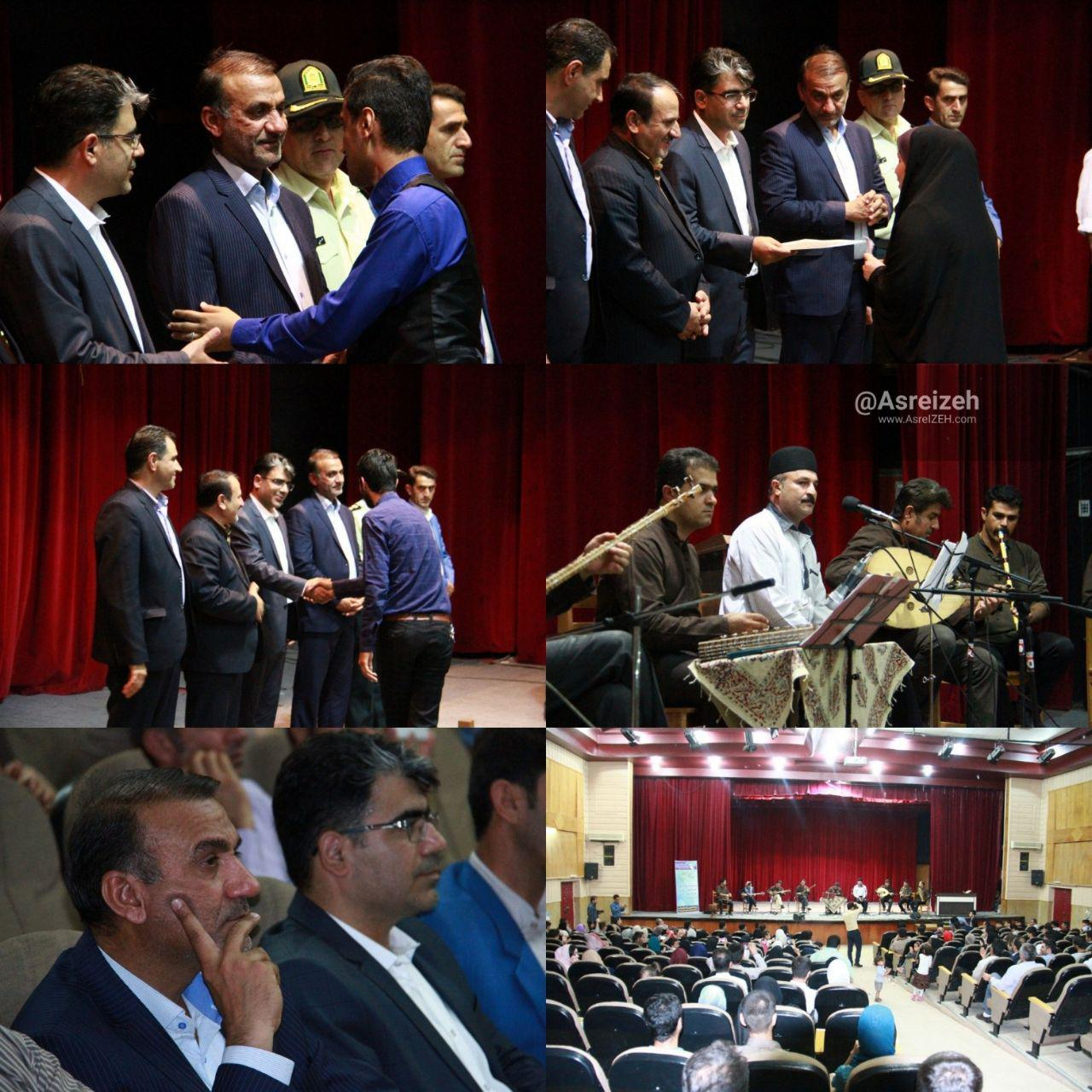 نخستین همایش تجلیل از خبرنگاران و اصحاب رسانه شهرستان ایذه برگزار شد