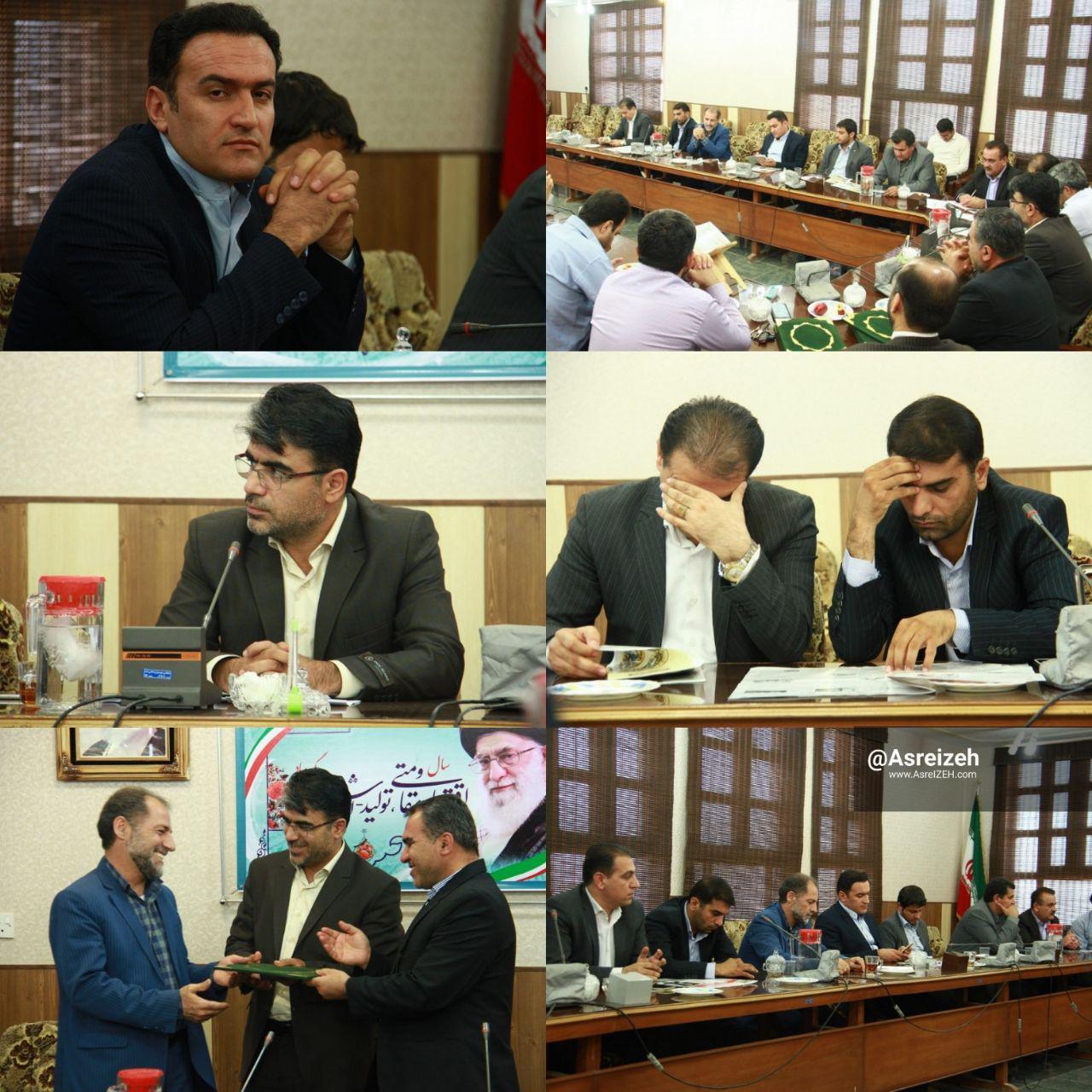 عکس/ مراسم تحلیف منتخبان پنجمین دوره شورای اسلامی شهر ایذه