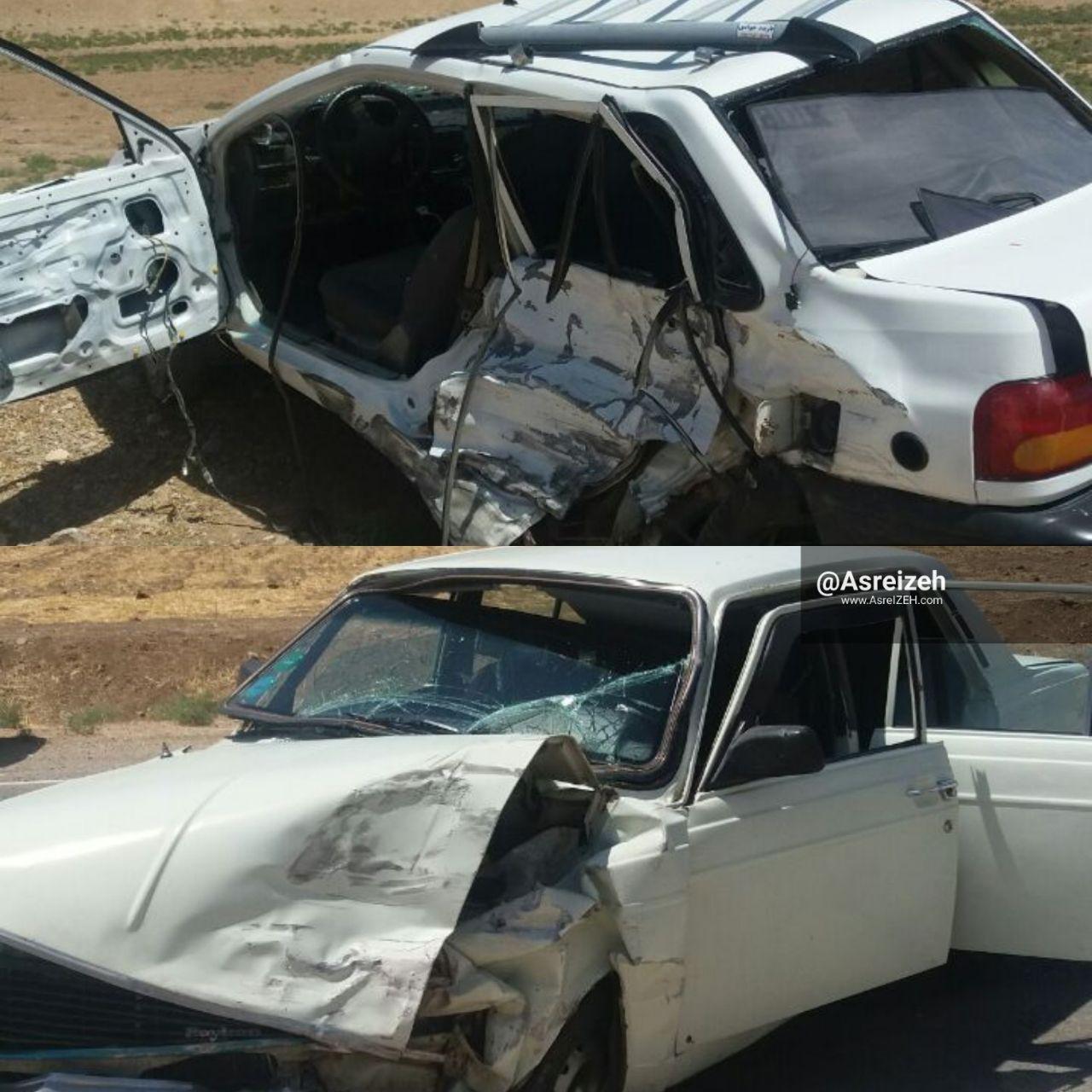 حادثه رانندگی در جاده ایذه_پیان دومصدوم برجای گذاشت