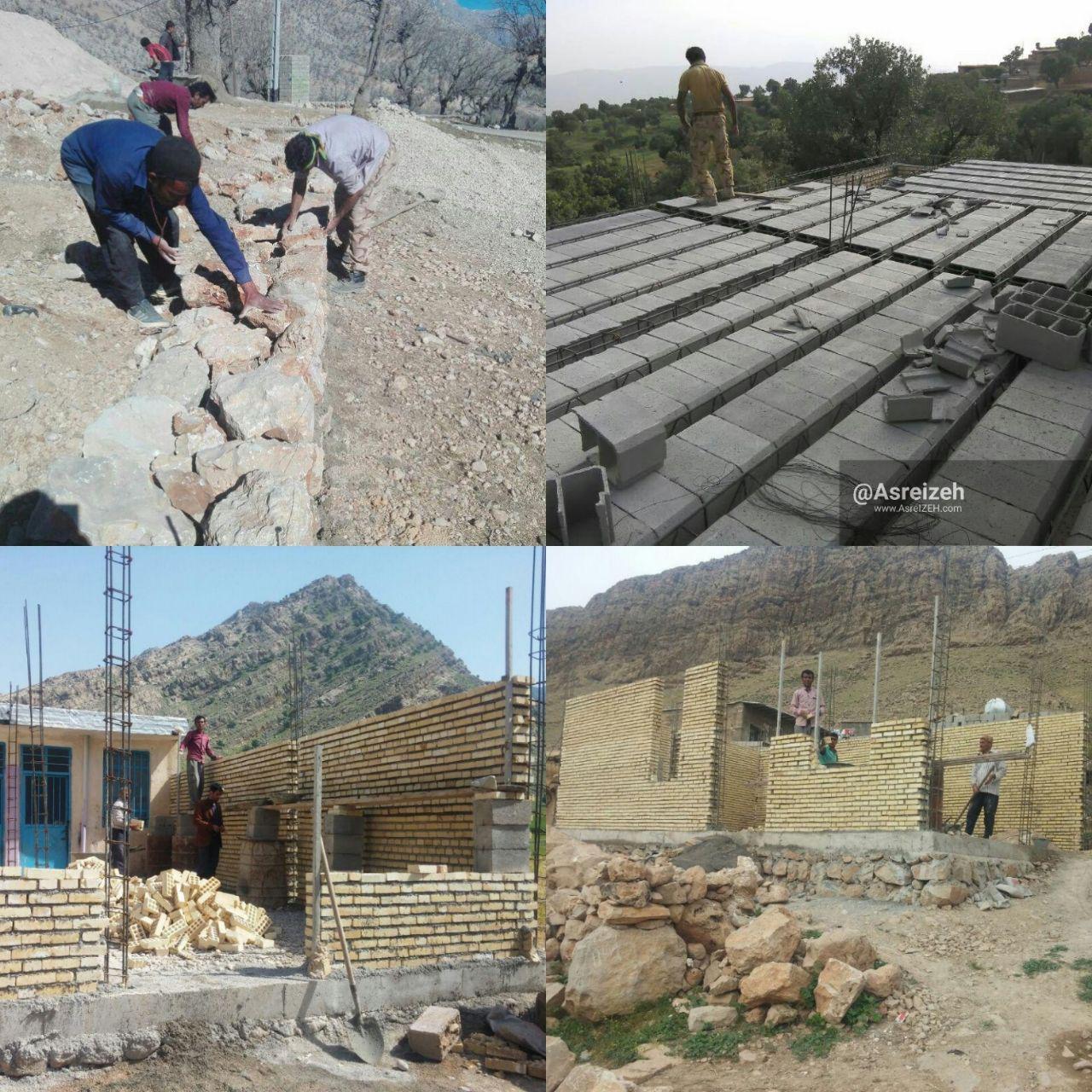 جهاد در روستاهای محروم بخش سوسن ایذه/ از احداث خانه تا تهیه جهیزیه