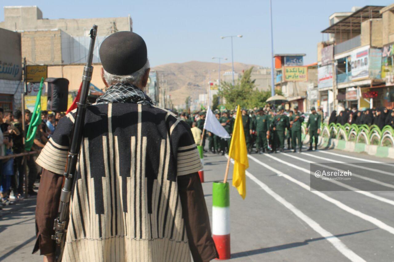 گزارش تصویری/ رژه نیروهای مسلح در شهرستان ایذه