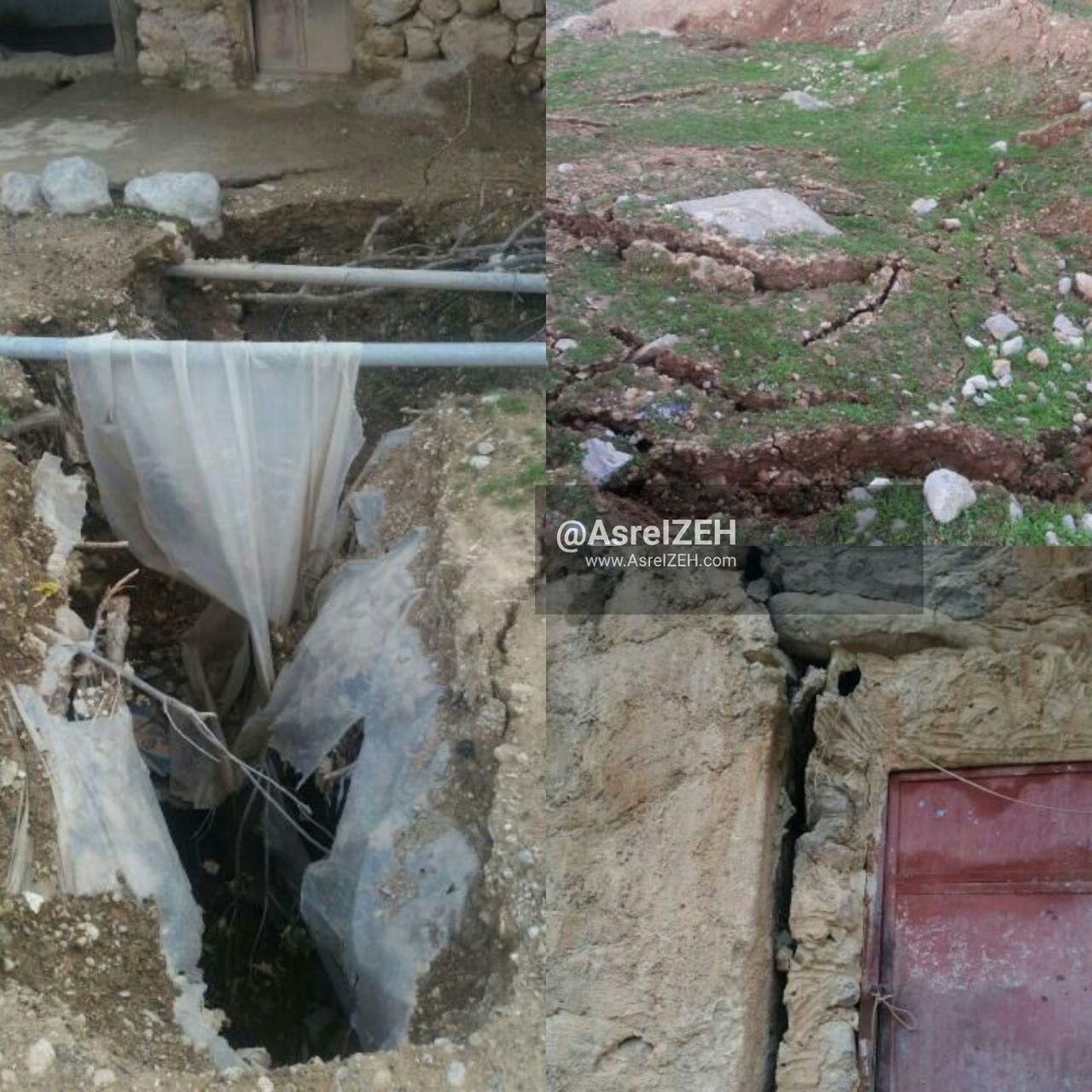 احتمال رانش زمین در روستای میراحمد دهدز/ لزوم انتقال فوری ساکنان به محل های امن