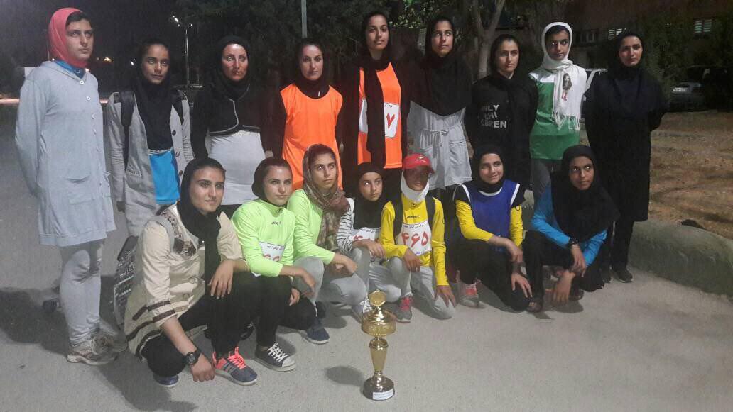 بانوان ایذهای قهرمان لیگ دوومیدانی خوزستان شدند