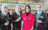 ۴مدال حاصل تلاش بانوان ووشو کار ایذهای در مسابقات انتخابی تیم ملی