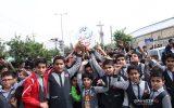 راهپیمایی یوم الله سیزده آبان در ایذه به روایت تصویر