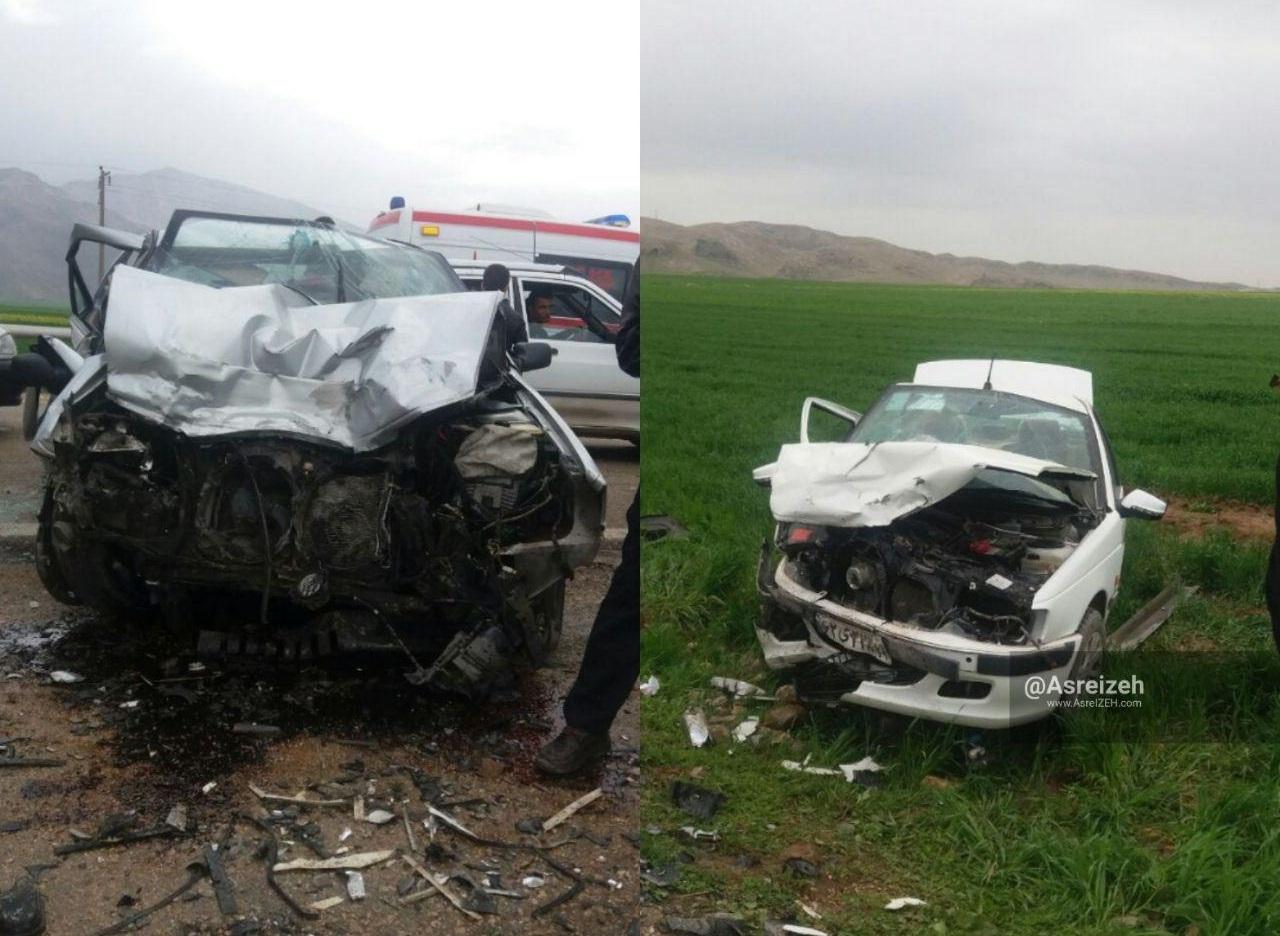 تصادف هولناک در جاده ایذه-پیان یککشته و پنجمصدوم برجای گذاشت