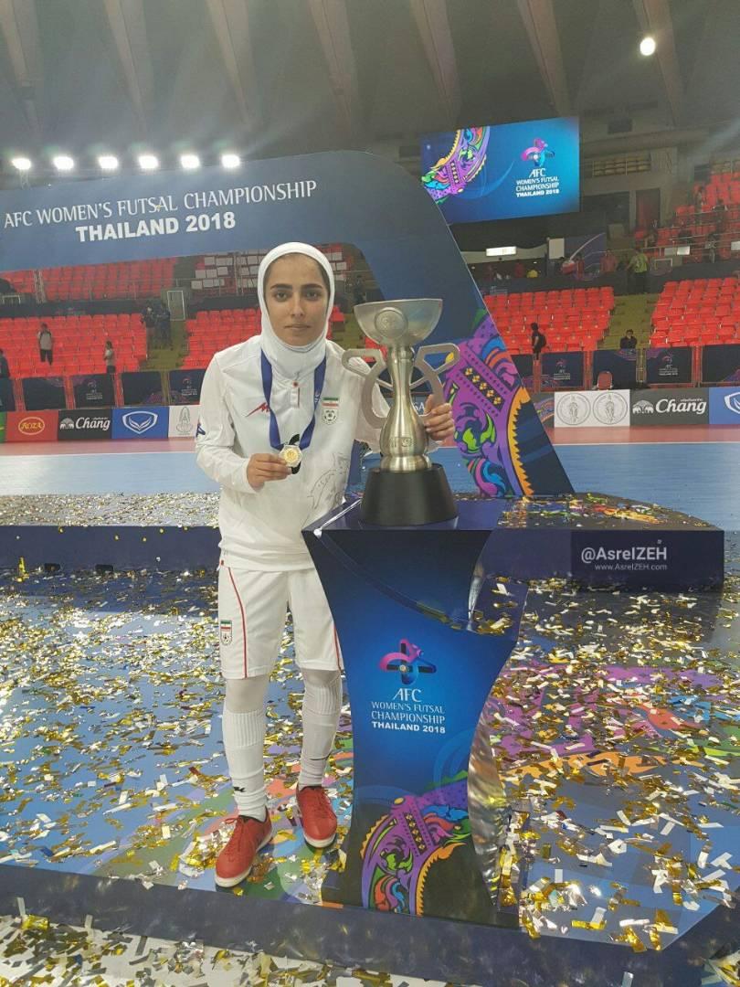 برای ایستادن روی سکوی قهرمانی آسیا تلاش زیادی کردیم/ مسئولان ایذه به ورزش بانوان توجه بیشتری بکنند