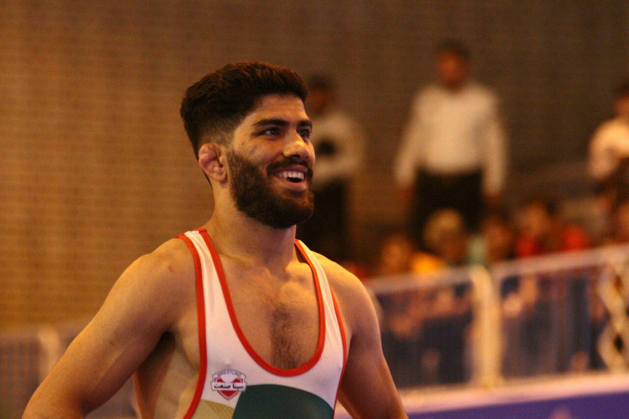 مردانی نفر اول مسابقات انتخابی تیم ملی