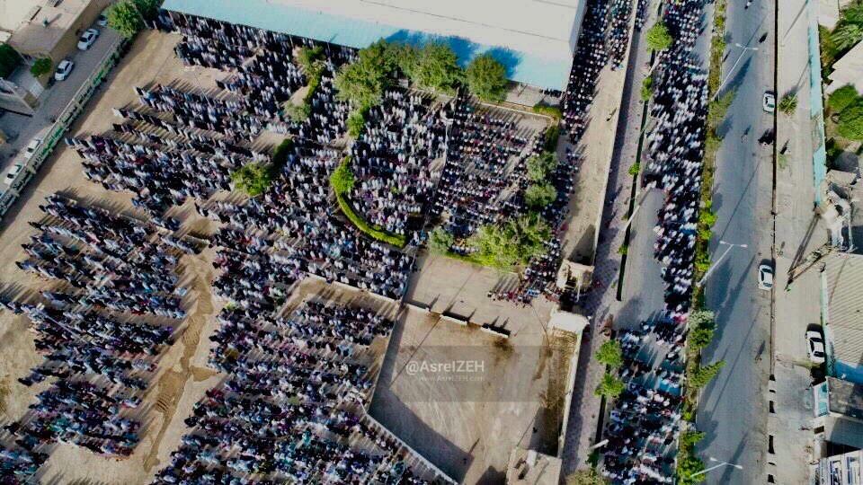 گزارش تصویری/ اقامه نماز عید سعید فطر در ایذه