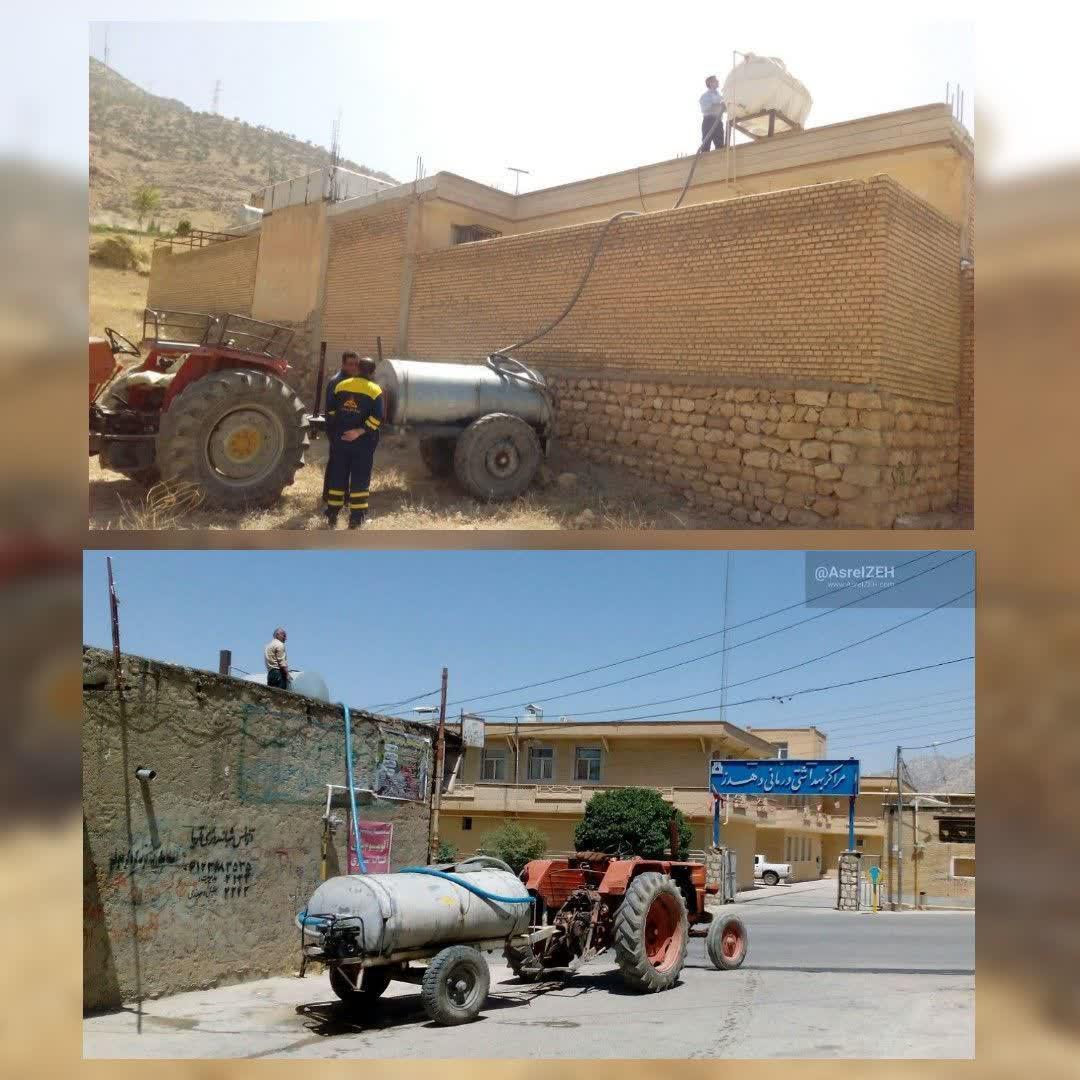 عکس/ رونق خرید آب در پرآبترین شهر ایران