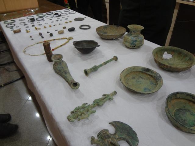 بازگشت اشیا تاریخی شهرستان به موزه ایذه