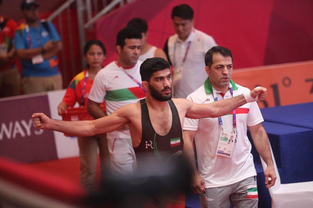 مهرداد مردانی مدال برنز بازیهای آسیایی جاکارتا را کسب کرد