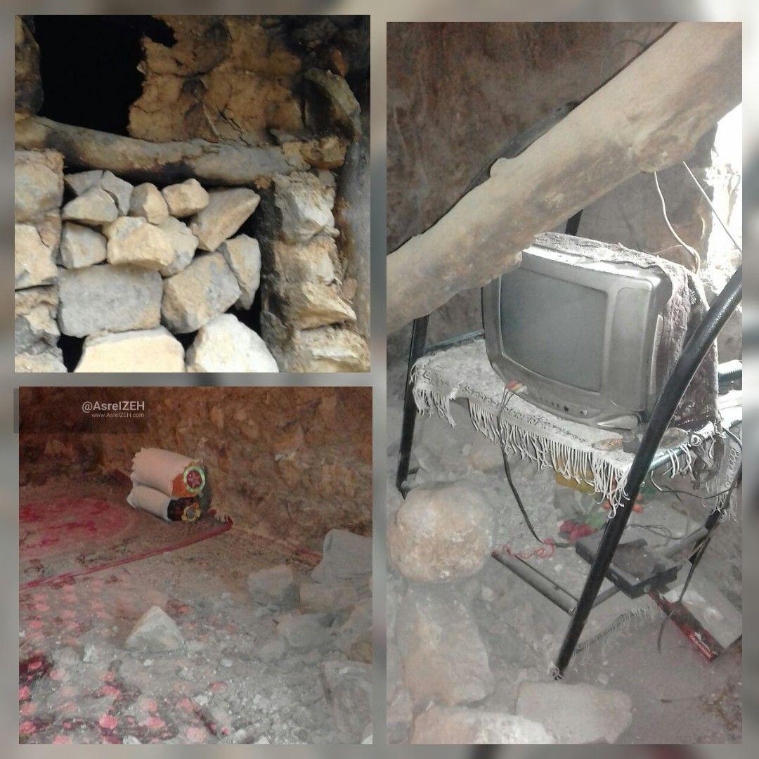 نتیجه بیتوجهی به روستای در معرض رانش میراحمد دهدز/ یک خانه فروریخت