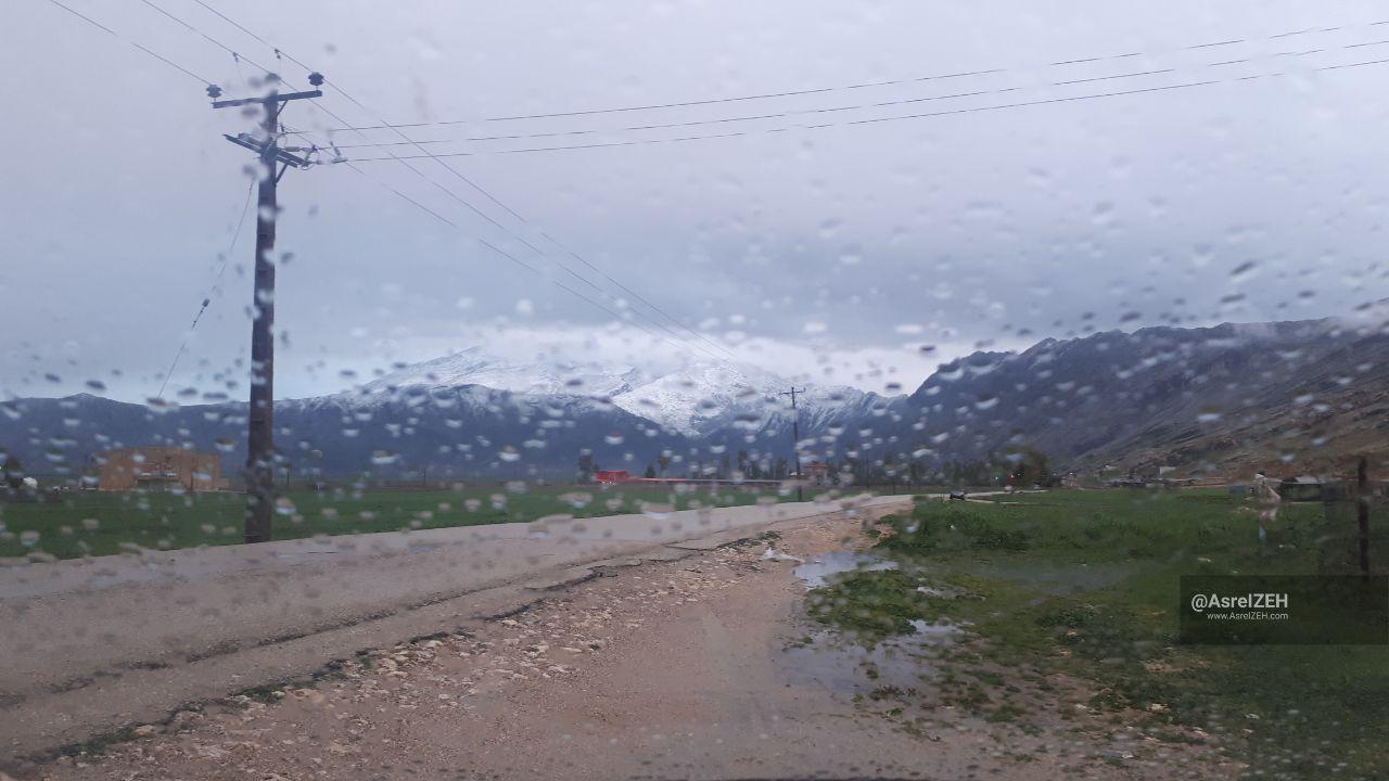 ایذه رکورددار بارش باران در خوزستان