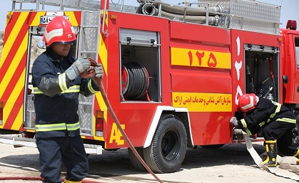 جزئیات استخدام ۱۴ نفر در آتشنشانی ایذه و دهدز
