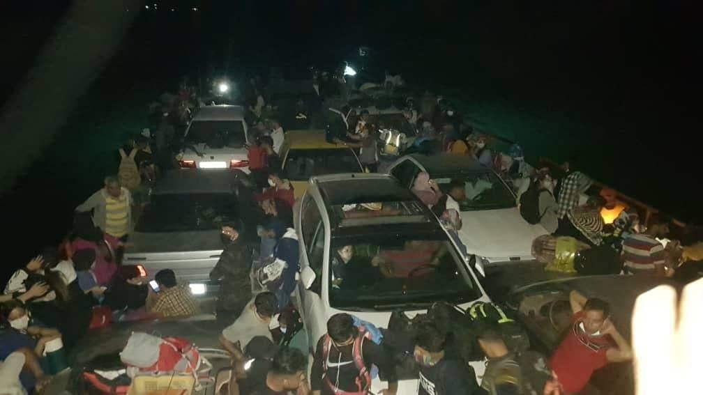 جابجایی گردشگران به شیوند با ترابری دریایی ممنوع شد