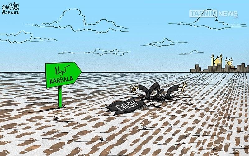 نمایش قدرت شیعیان مقابل داعش!