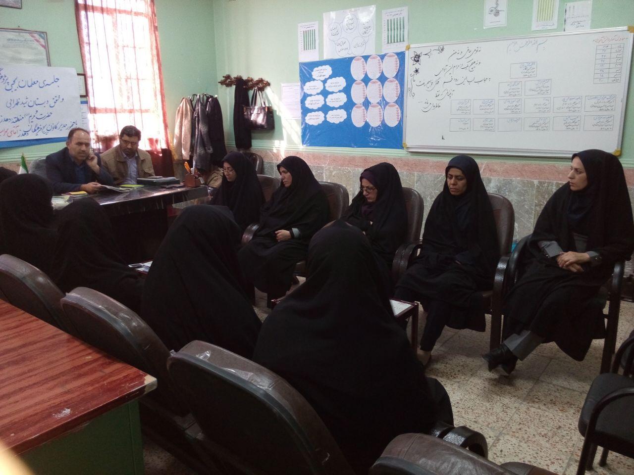برگزاری نشست پژوهشی معلمان بسیجی در دهدز