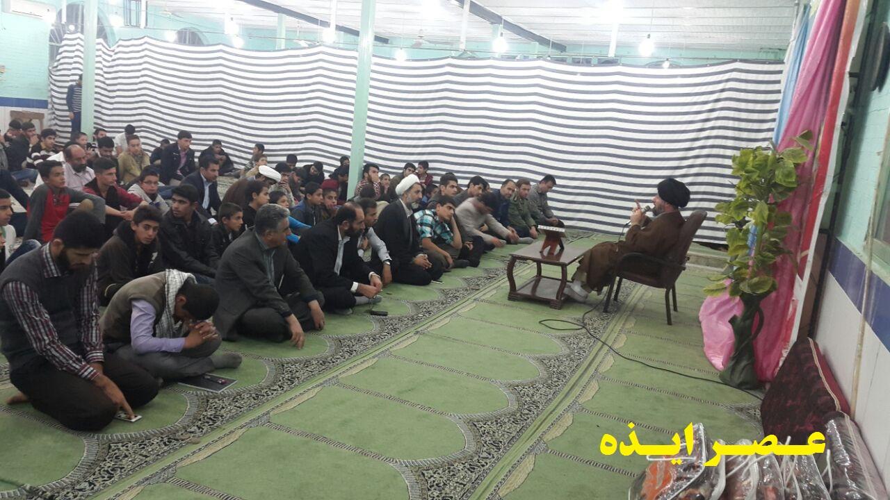 برگزاری جشن فجر در پایگاه مسجد ابوالفضل(ع) ایذه+تصاویر
