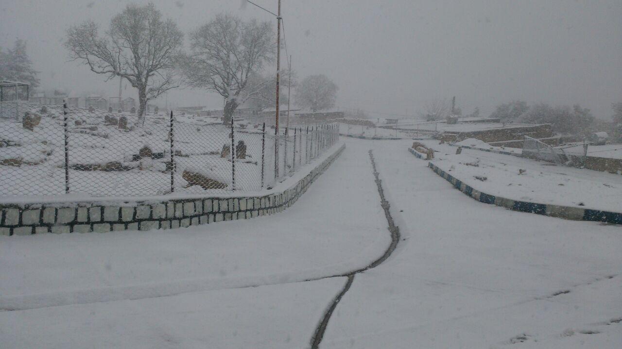 دهدز با پوشیدن لباس حریری از برف به استقبال بهار رفت+تصاویر