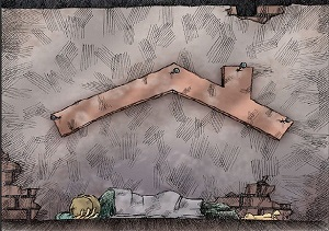 روایت تکان دهنده یک زن کارتن خواب