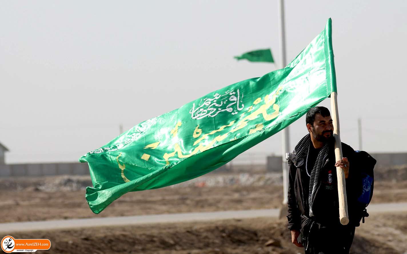گزارش تصویری/ بازگشت آخرین گروههای زائران اربعین از مرز شلمچه