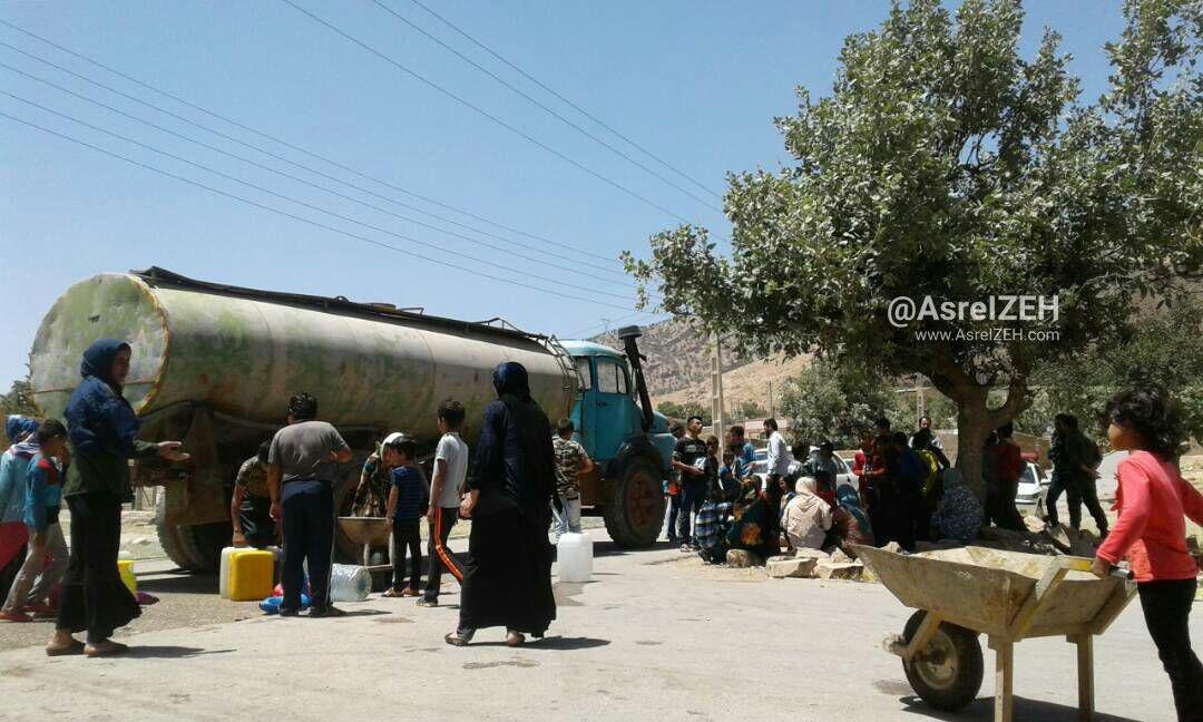 عکس/ بحران آب در پرآبترین شهر ایران