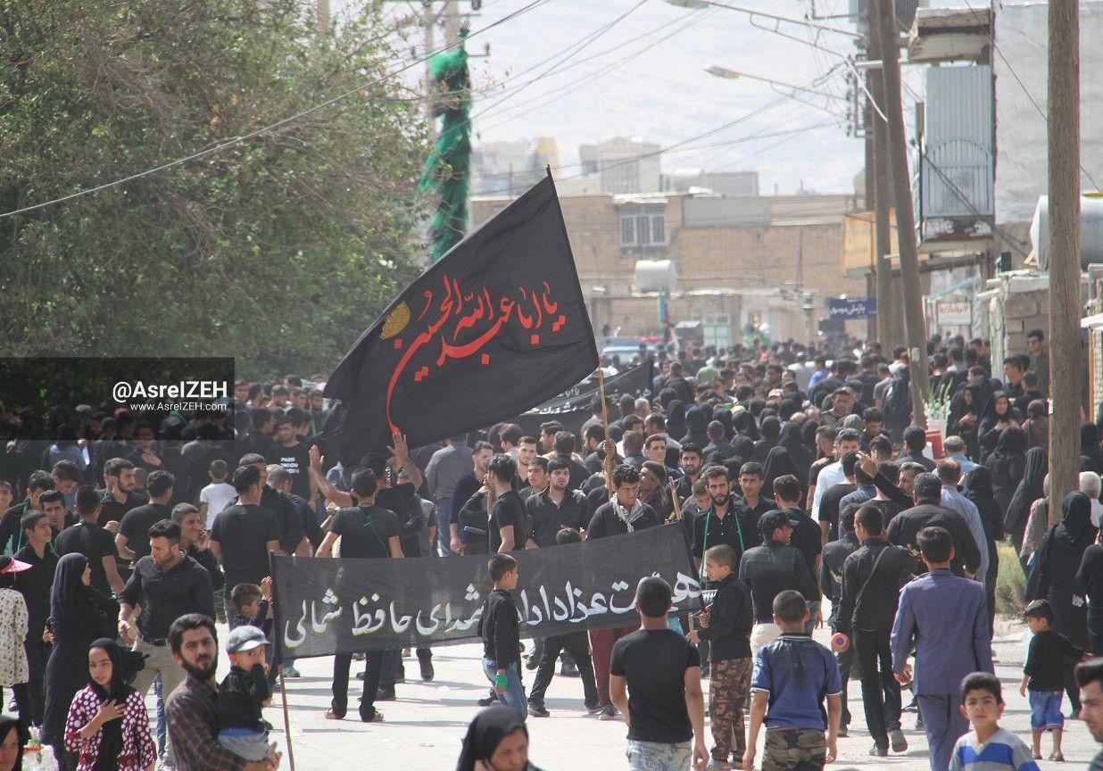 گزارش تصویری/ سوگواری مردم ایذه در اندوه عاشورای حسینی