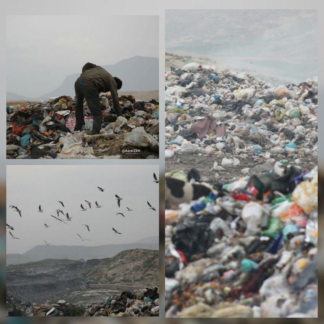 هیچ عزمی برای حل معضل دفن اصولی زباله در ایذه جزم نیست