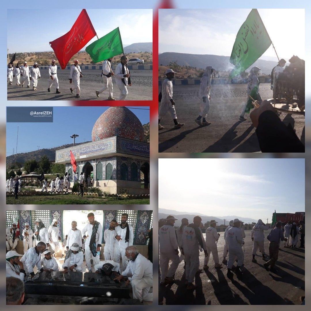 طولانیترین کاروان پیاده اربعین به دروازه خوزستان رسید